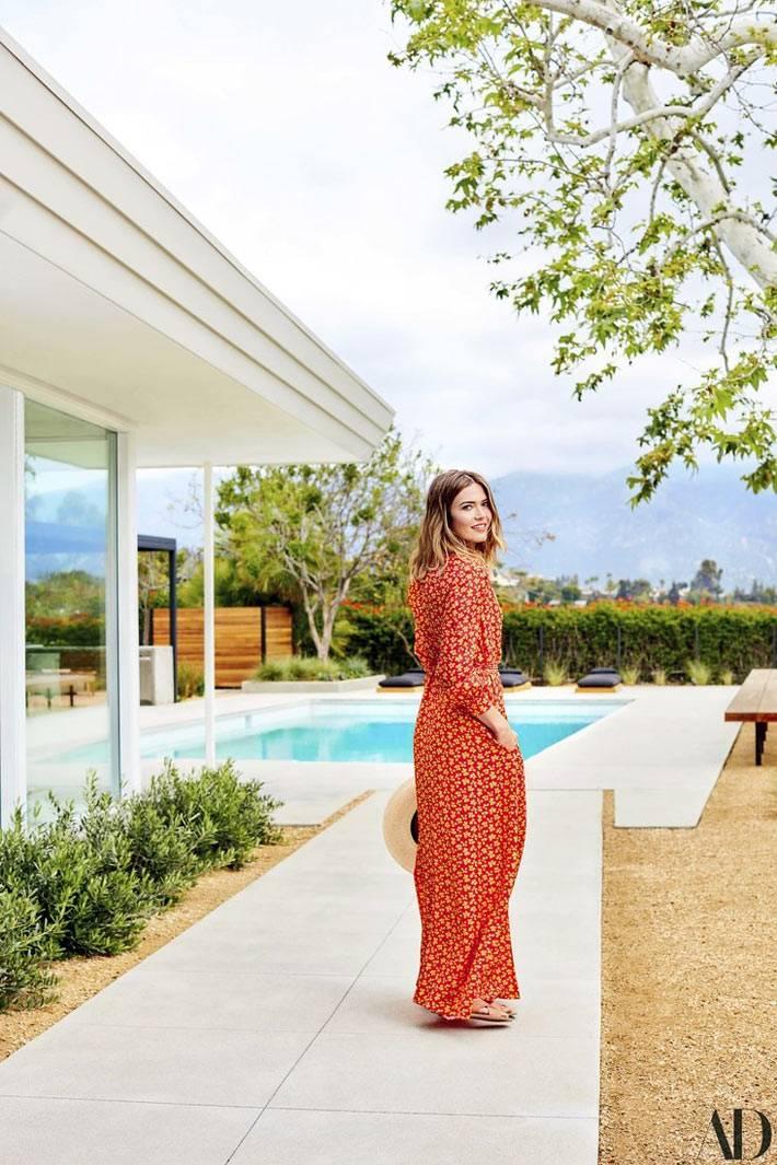 актриса Менди Мур в интерьерах своего собственного дома фото