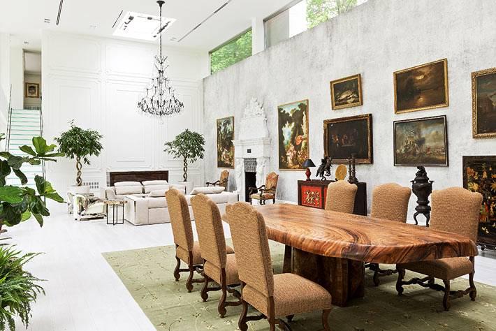 картинная галерея в интерьере современного дома фото