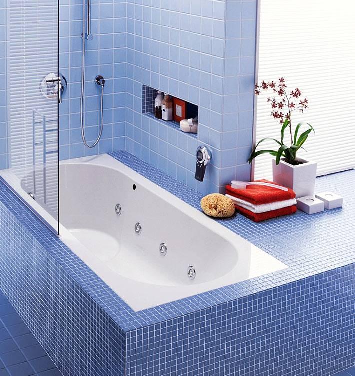 встроенная гидромассажная ванная Ravak фото