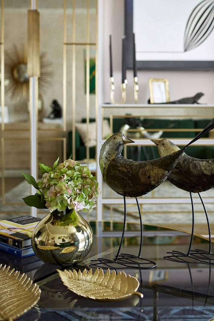 статуэтки и вазочки для украшения интерьера квартиры в Москве