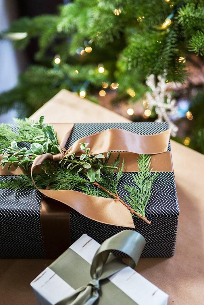 стильная упаковка подарков своими руками фото