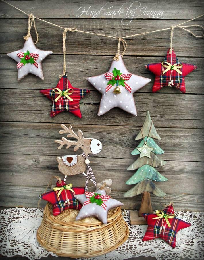как самостоятельно сшить игрушки на новогоднюю ёлку