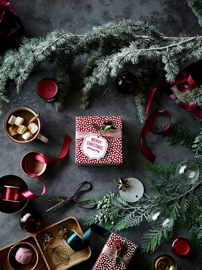 Новогоднее вдохновение в коллекции H&M Home 2018 года фото