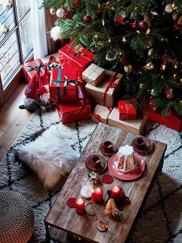 красивый рождественский декор от Зара Хоум