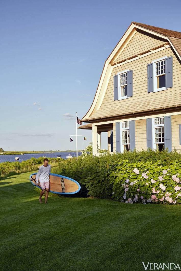 летний дом для отдыха у реки в Хемптоне
