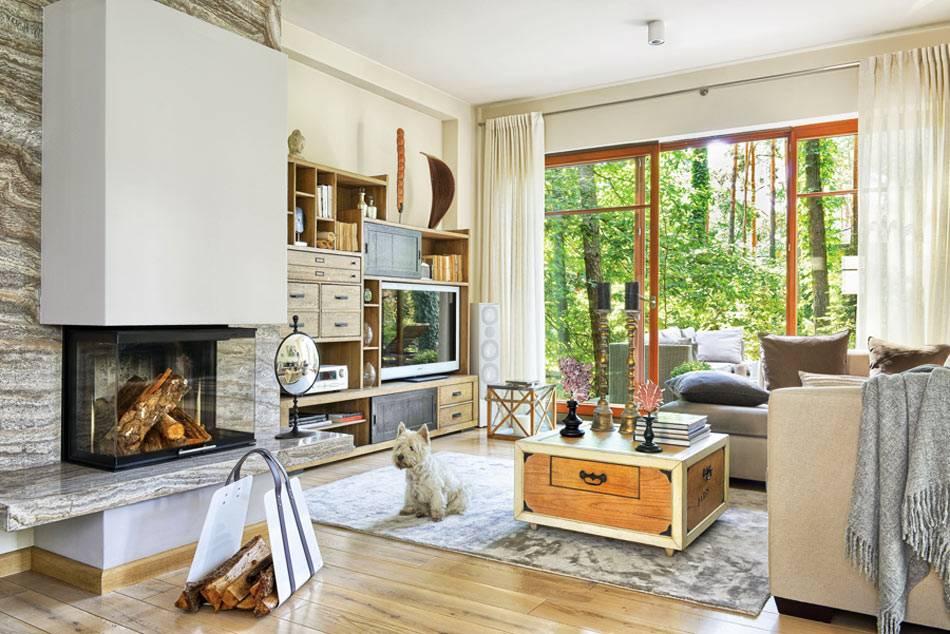 современная эклектика в обустройстве красивого дома