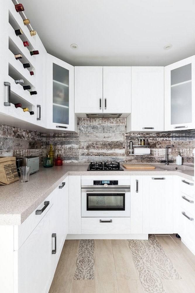 специальные полки для хранения вина на кухне фото