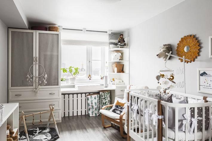 вся необходимая мебель для детской комнаты малыша