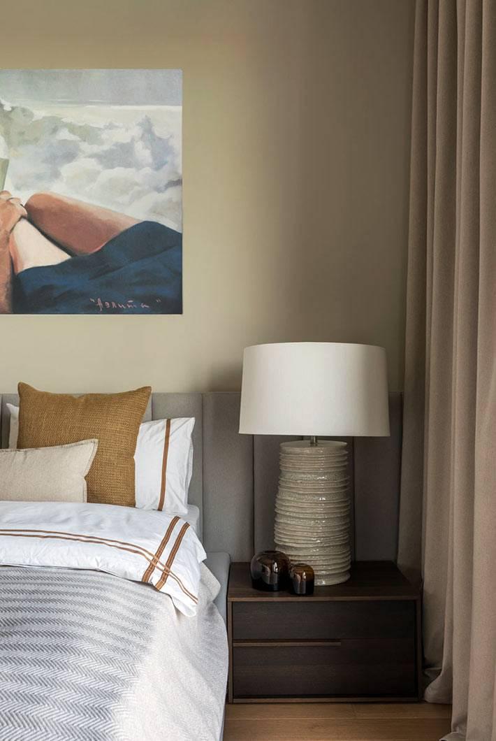 лаконичное обустройство спальни для взрослых фото
