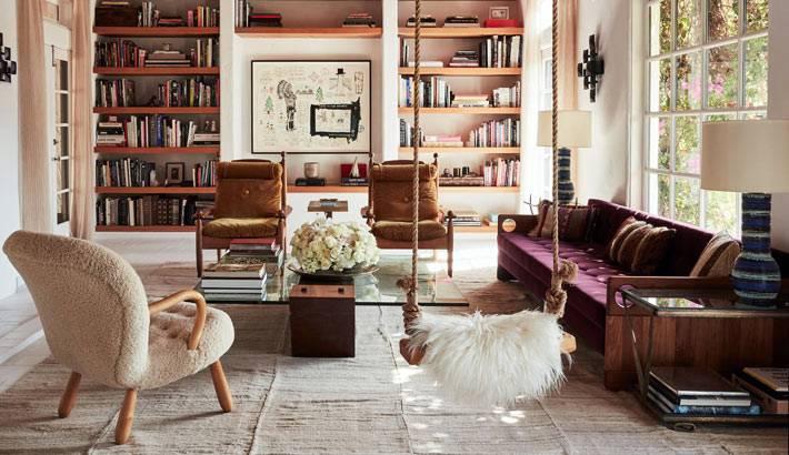 оригинальные идеи в оформлении загородного дома стилиста в США