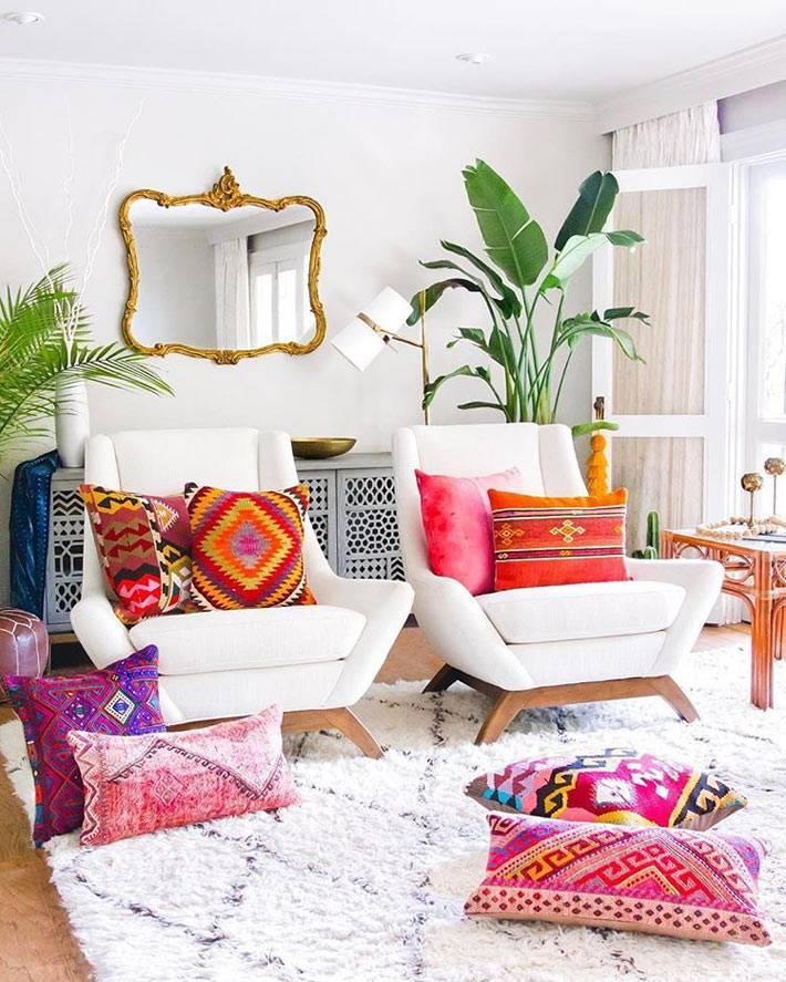 как внести ноту свежести в обыженный интерьер гостиной комнаты