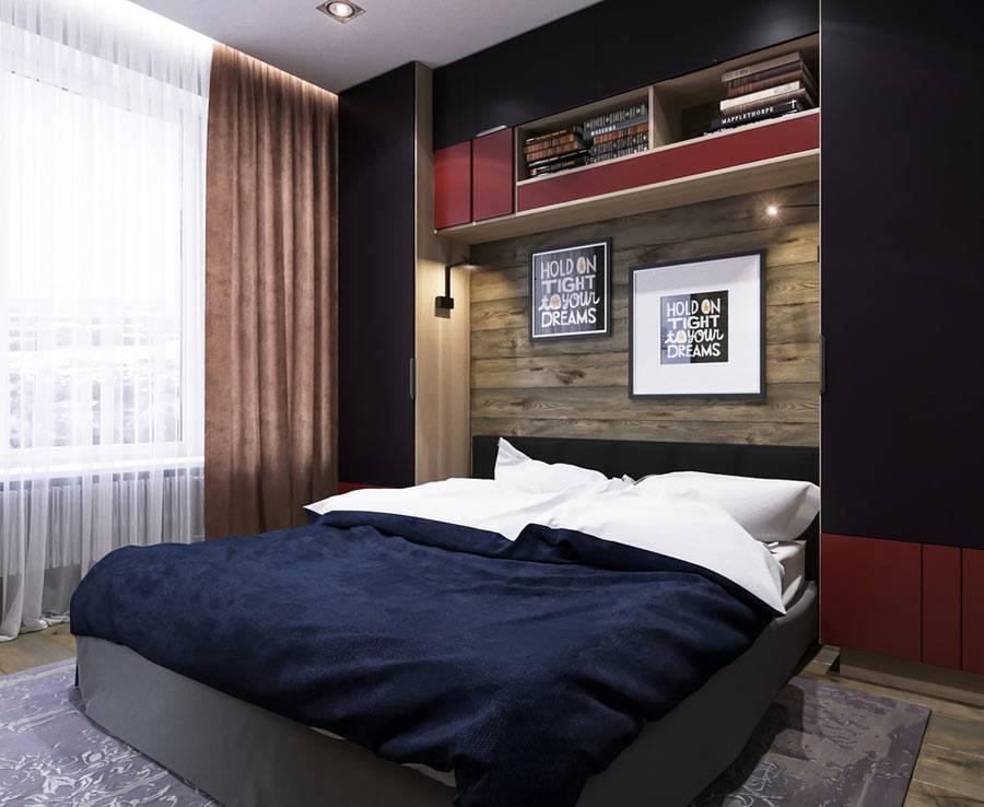 как оформить мужскую спальню для молодого студента