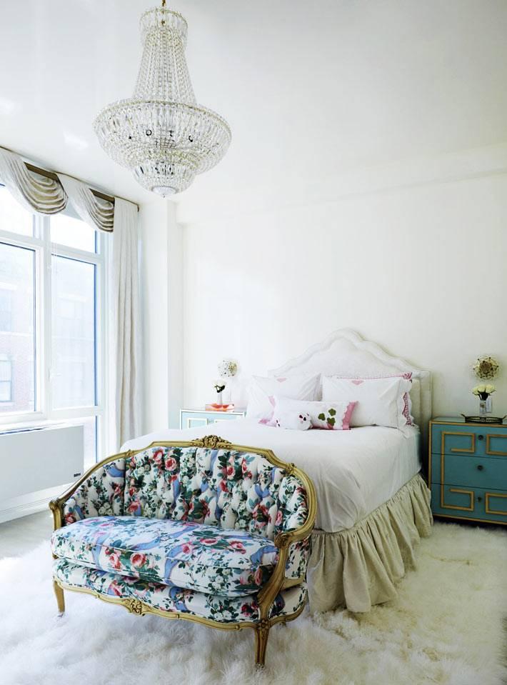 люстры хрустальные для современной спальни