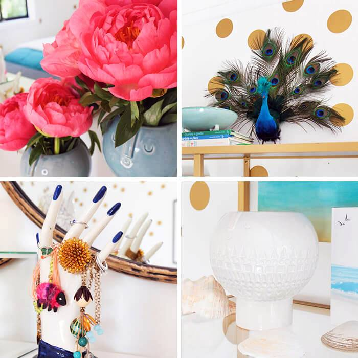 яркие декоративные мелочи задают настроение праздника в доме