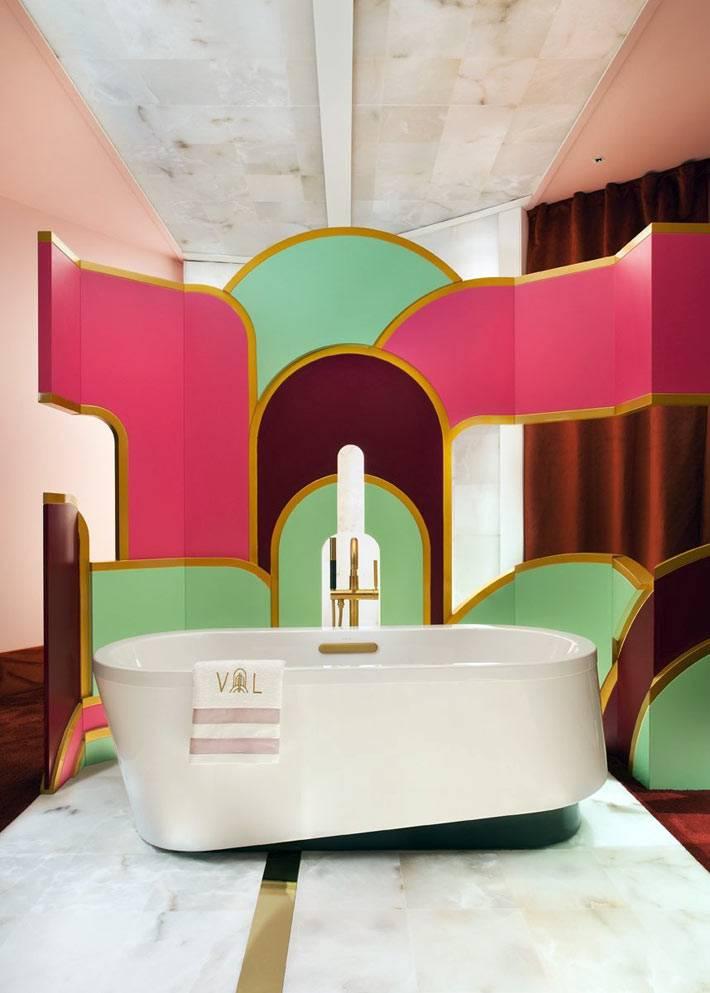 современное видение дизайна ванной комнаты фото
