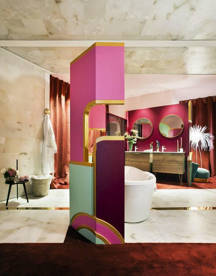 как стильно и красиво оформить зону отдыха в ванной комнате