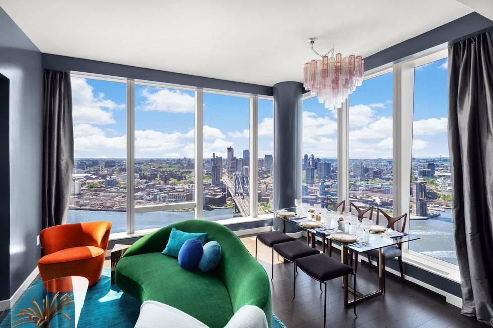 панорамный вид из квартиры на манхеттене фото