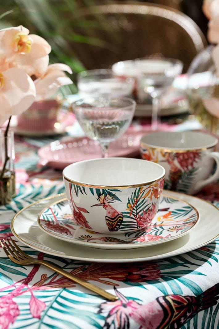 великолепная посуда H&M Home Summer Collection 2019