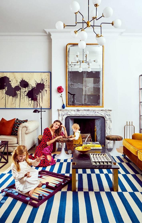 прекрасный дом в исторической части Бруклина для большой семьи