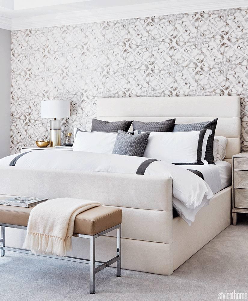 нежные цвета и текстуры для оформления спальни фото