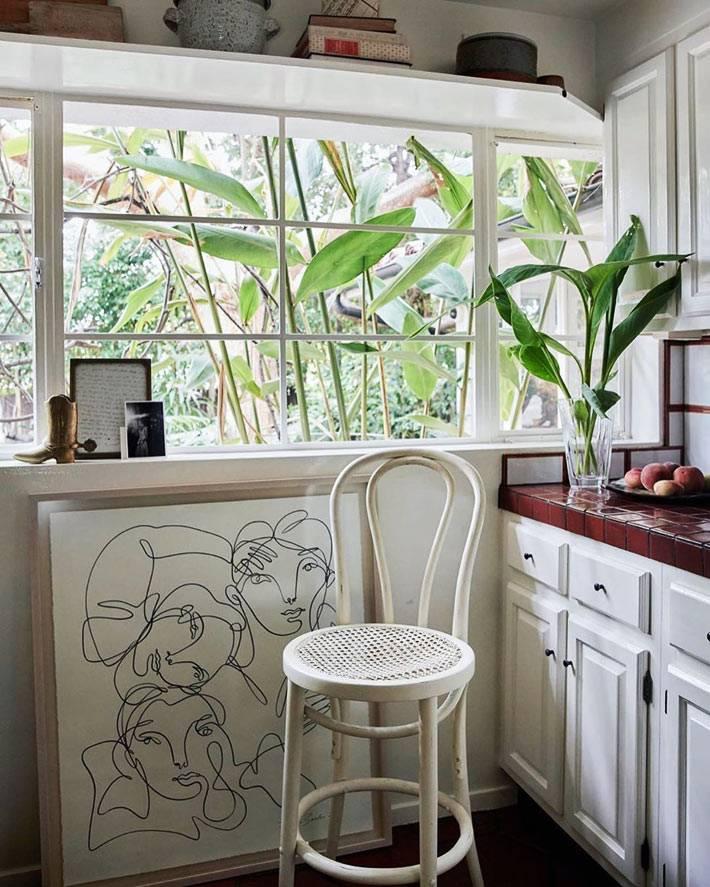 как выбрать картину для кухни в минималистичном стиле