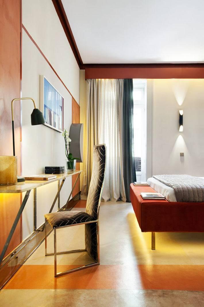 мебель с подсветкой для дома, модный интерьер номера в отеле