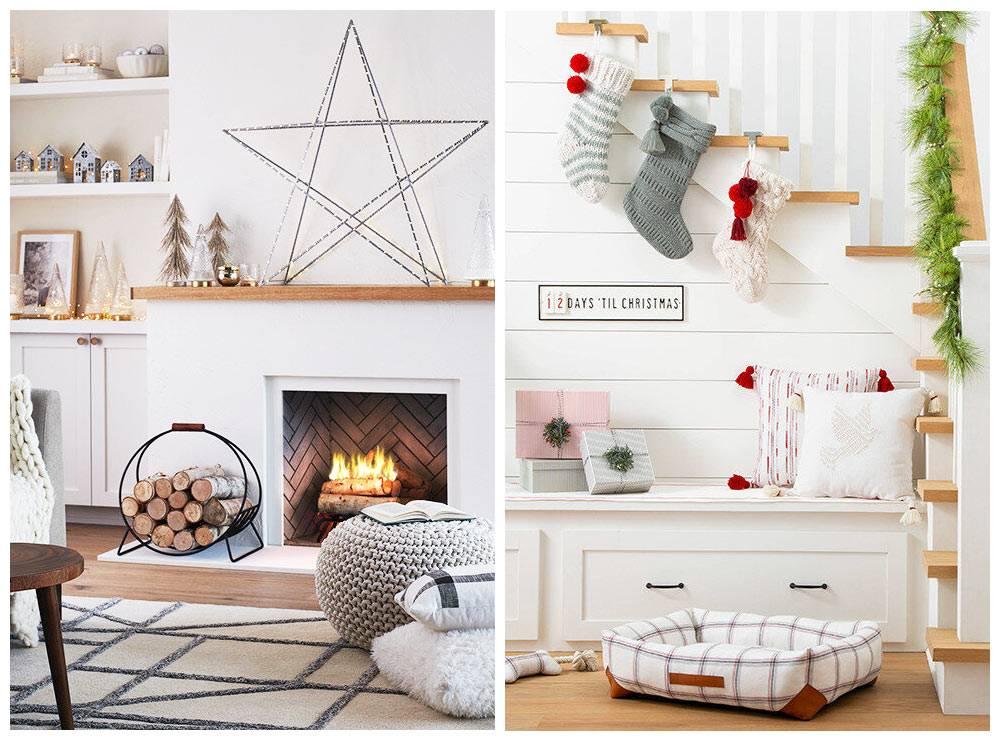 идеи новогоднего украшения дома от Target 2019
