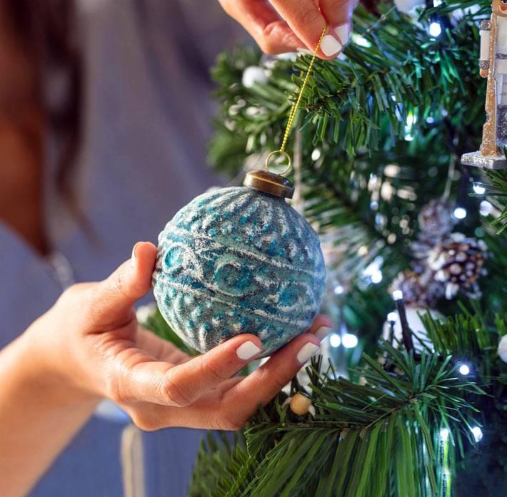 как красиво нарядить ёлку на новый год