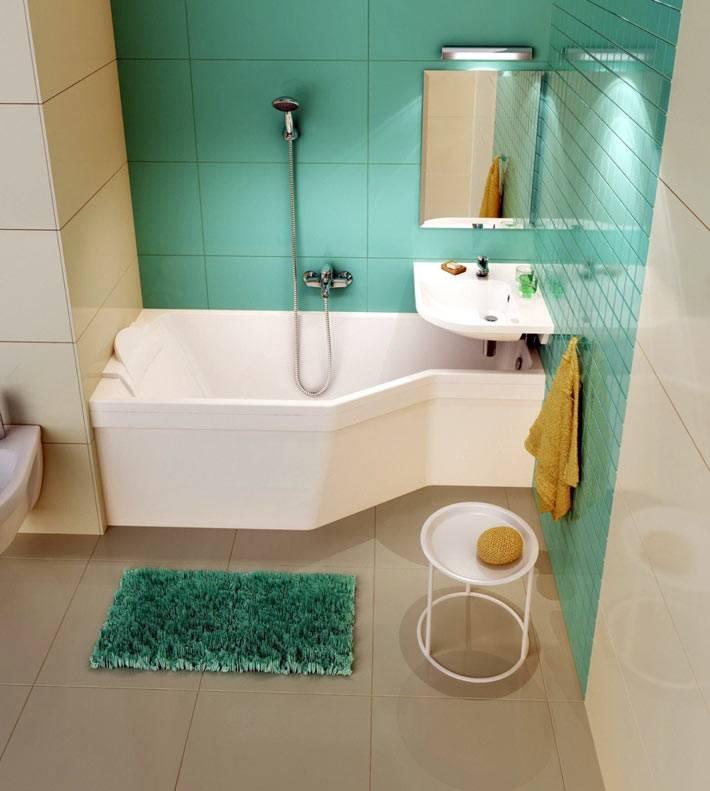 компактная ванная для маленького помещения фото