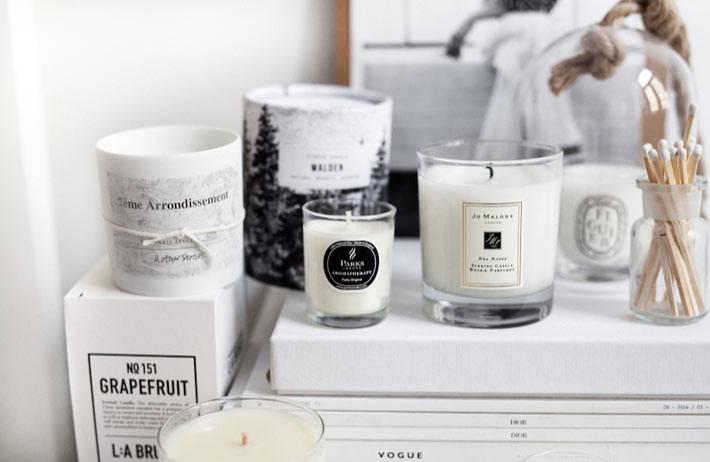 ароматические свечи Jo Malone для дома фото