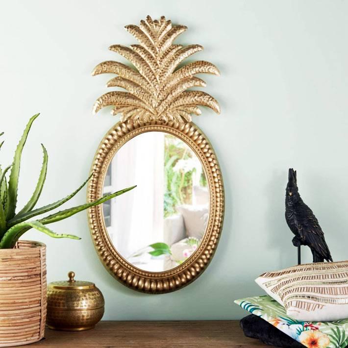 Тропические тренды: ананас как декор для дома