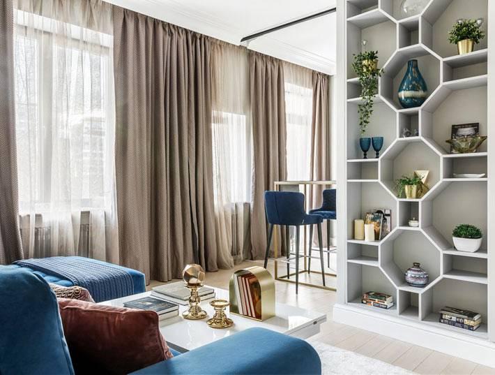Дизайн квартиры в сталинке от студии «Уютная Квартира»