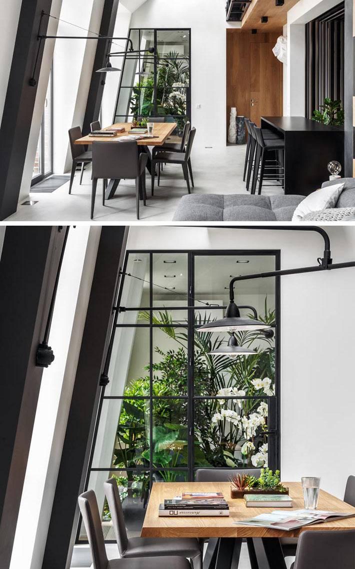 Комната с растениями ? идеальное место для чтения