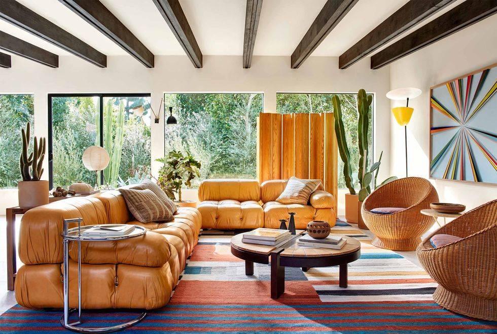 Актриса София Буш превратила голливудский дом в райский уголок