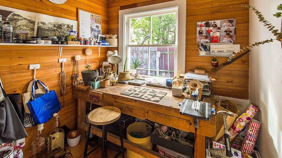 Небольшие, но функциональные комнаты для рукоделия