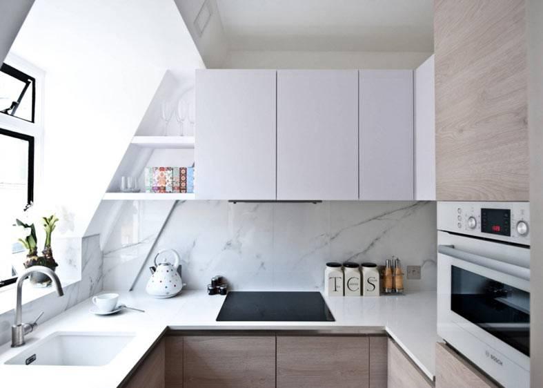 10 великолепных идей для обустройства маленькой кухни