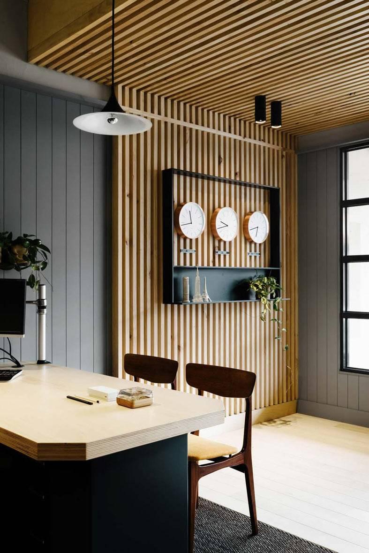деревянные рейки для декора стены и потолка фото