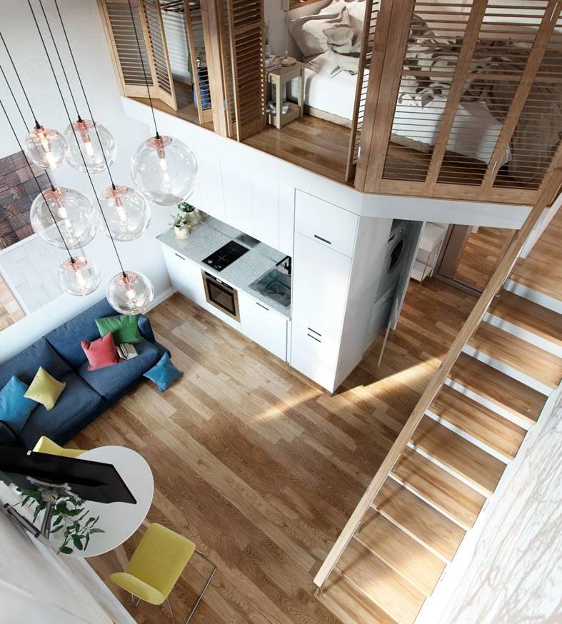 удобная планировка квартиры, спальня над кухней