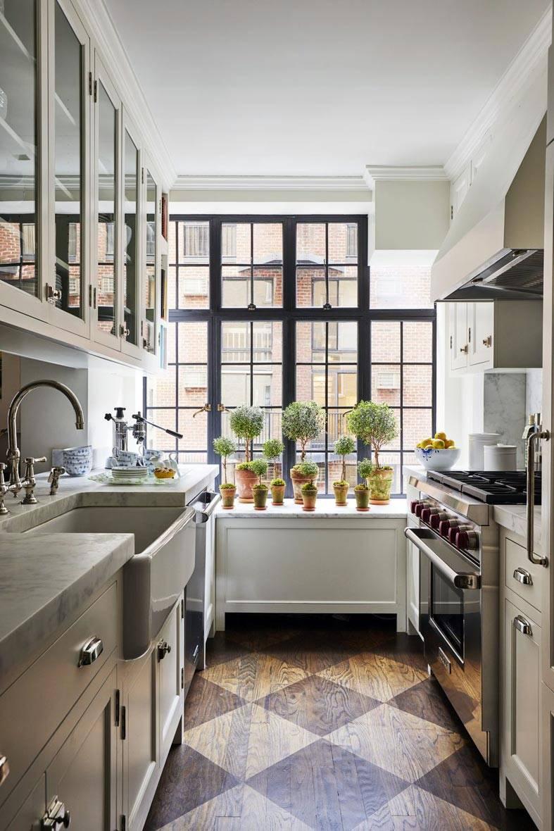 маленькая кухня с удобной планировкой