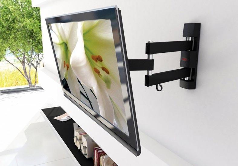 универсальный способ крепления телевизора на стену