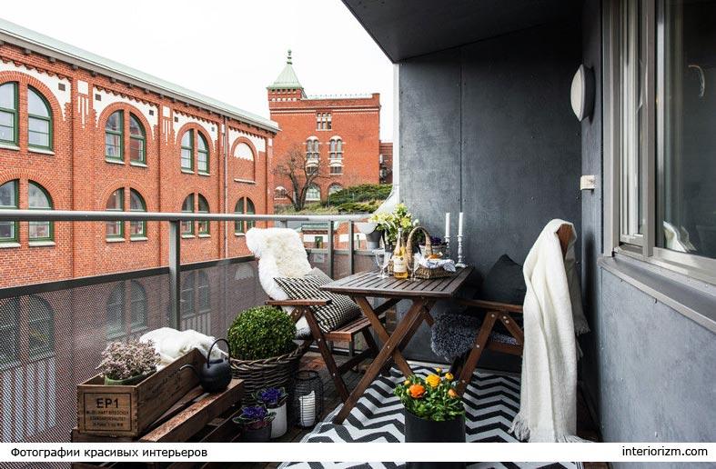 как обустроить уютный балкон фото