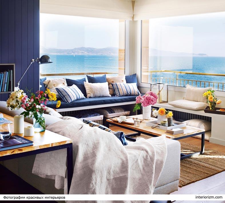 красивая угловая квартира с панорамным видом на море