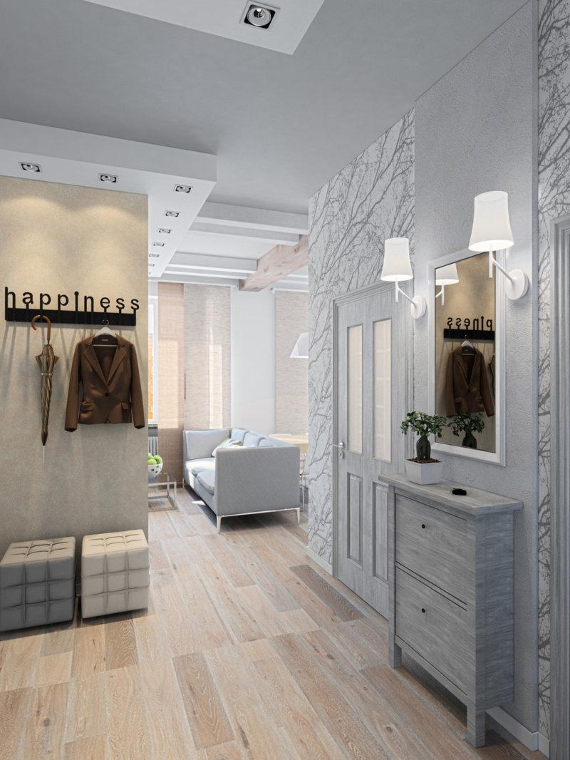 Прихожая в стиле лофт: дизайн прихожей и обустройство в модном и современном стиле
