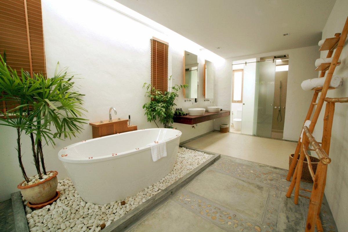 Ванная комната в современном стиле: фото дизайна интерьера