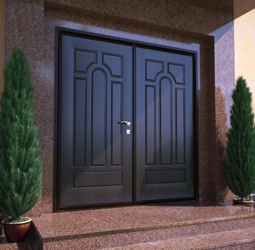 Выбираем материал для изготовления двери